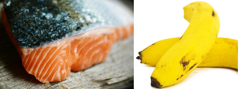 Saumon et Banane : la recette sur Cooking Skills